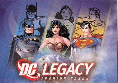 2007 Rittenhouse Archives DC Legacy Complete Set Total 50 cards