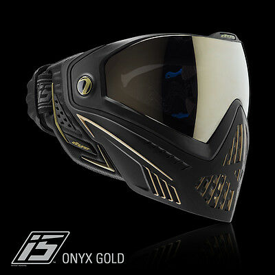 Dye I5 Pro ONYX black gold Thermalmaske Paintball Airsoft Softair Goggle 1961
