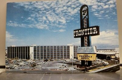 Nevada NV Las Vegas Frontier Hotel Postcard Old Vintage Card View Standard Post