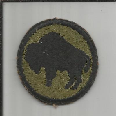WW 2 US Army 92nd Infantry Division Patch Inv# X067