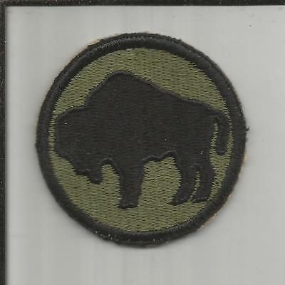 WW 2 US Army 92nd Infantry Division Patch Inv# X069