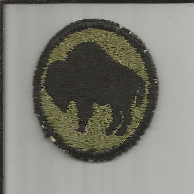 WW 2 US Army 92nd Infantry Division Patch Inv# X070