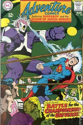 Adventure Comics (1st Series) #366 1968 VG 4.0 Stock Image Low Grade