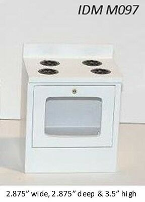 Modern Stove Miniatures 1:12 Scale