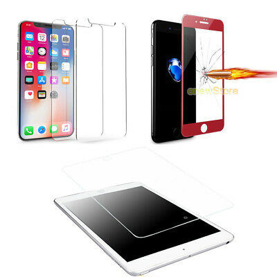 Premium HD Tempered Glass Screen Protector for iPhone X 5 6 6S 7 8Plus/iPad/Mini