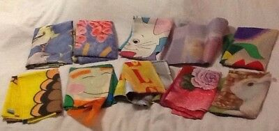 Lot of 10 Garden Flags Easter Thanksgiving Valentine