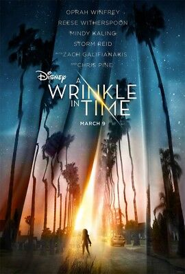 A WRINKLE IN TIME great original 27x40 D/S movie poster LAST ONE (th031)