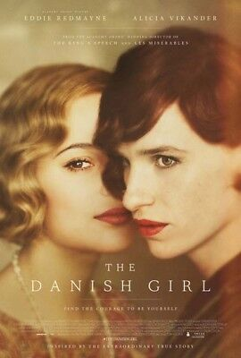 THE DANISH GIRL great original D/S 27x40 movie poster (th17-01)