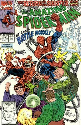 Amazing Spider-Man (1st Series) #338 1990 FN Stock Image