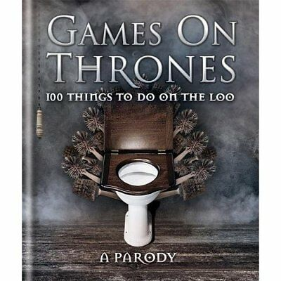 Games on Thrones: 100 things to do on the loo - Hardcover NEW Michael Powell  20