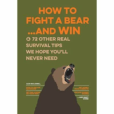 Uncle John's How to Fight a Bear and Win: And 50 Other  - Hardcover NEW Bathroom