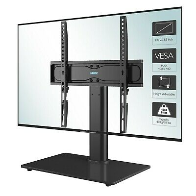 "Universal Table Top Pedestal TV Stand with Bracket for 32""-55"" LCD/LED/Plasma TV"