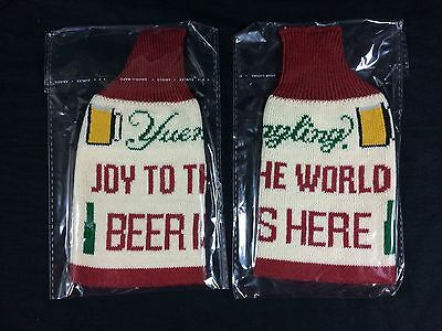 2 Yuengling Beer Ugly Christmas Sweater Koozie Bottle Coozie
