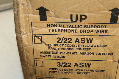 General Cable 2/22 Asw Non Metallic Telephone Drop Wire