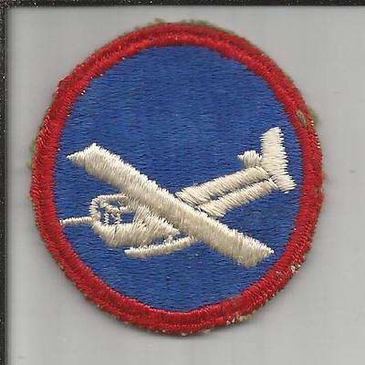 WW 2 US Army Glider Troops Overseas Cap Patch Inv# S222