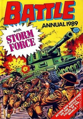 Battle Picture Weekly Annual HC Battle Action Force/Battle Annual #1989 1988 FN