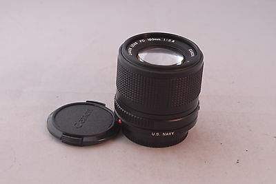 Canon FD 100mmf/2.8 US Navy Special Lens In Ext+ Condition, Military  US Navy