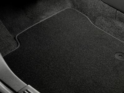 Genuine Ford Mondeo Car Mats in Premium Velour - Rear pair in Black (1458303)