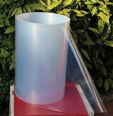 8 m Tiefziehfolie - Polystyrol transparent 0.8 mm x 550 mm - Thermoform - Folie