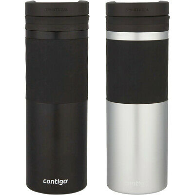 Contigo 16 oz. Twistseal Glaze Stainless Steel Travel Mug