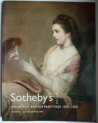 Sotheby's 22.11.2007 Important British Paintings 1500-1850
