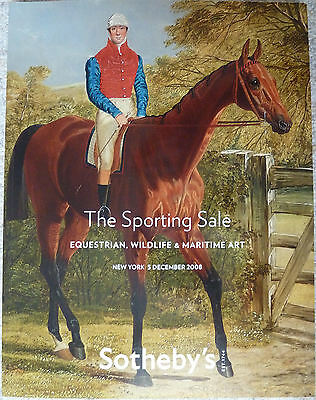 Sotheby's 05.12.2008 The Sporting Sale  Equestrian, Wildlife & Maritime Art