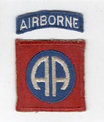 WW 2 82nd Airborne Division Patch & Tab Inv# X128