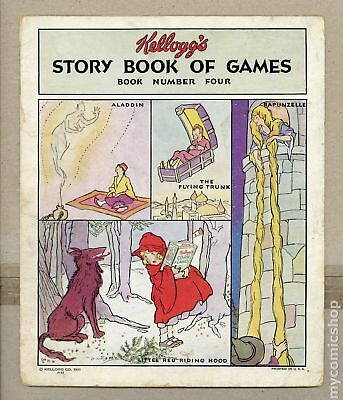 Kellogg's Story Book of Games #4 1931 GD 2.0