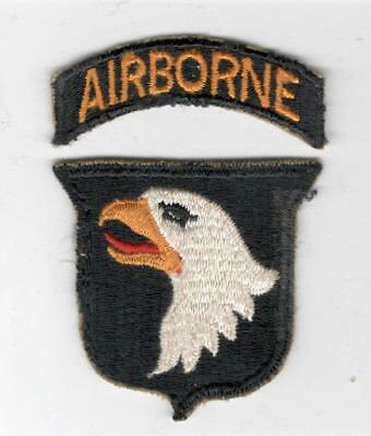 WW 2 US Army 101st Airborne Division Patch & Tab Inv# X139