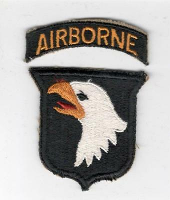 WW 2 US Army 101st Airborne Division Patch & Tab Inv# X144