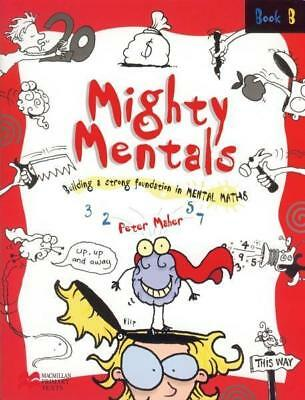 NEW Mighty Mentals Book B By Peter Maher Paperback Free Shipping