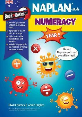 NEW Naplan*-style Numeracy : Year 5 By Numeracy Yr 5 Paperback Free Shipping
