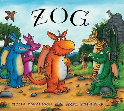 NEW Zog  By Julia Donaldson Board Book Free Shipping
