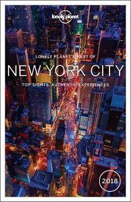 NEW Best of New York City 2018 By Lonely Planet Travel Guide Paperback