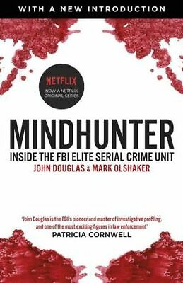 NEW Mindhunter By John;Olshaker, Mark; Douglas Paperback Free Shipping