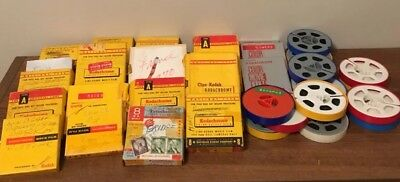 Vintage Lot of 31 8mm Home Movies Films Weddings Vacations 1950s 60s 70s