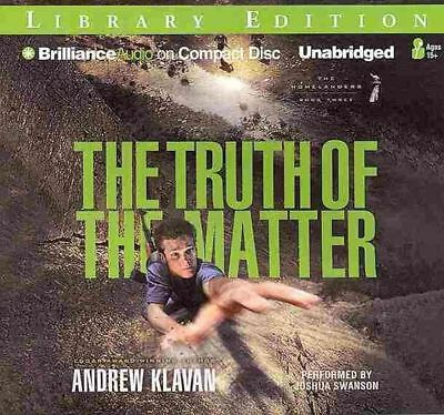 The Truth of the Matter by Andrew Klavan (English) Compact Disc Book Free Shippi