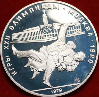 Uncirculated 1979 Russia 10 Roubles Silver Foreign Coin Free S/H