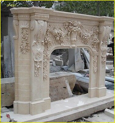 FromFactoryToU! Customize Own 20 models Marble fireplace mantel @PLS ASK PRICE@