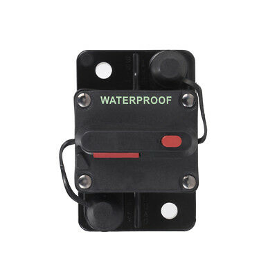 Pro 80A AMP 12V-48V Circuit Breaker Car Marine Stereo Audio Inline Replace Fuse