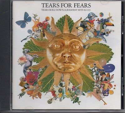 TEARS FOR FEARS - Tears Roll Down (Greatest Hits) - CD Album *Best Of**Singles*
