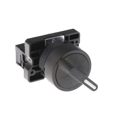 On/Off 2Position Rotary Select Selector Switch 1 NO 10A 600V AC XB2-ED21 EJ21 SK