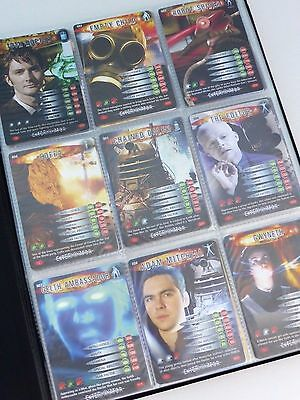 Dr Doctor Who Battles In Time - Exterminator Trading Card Set COMPLETE FULL SET