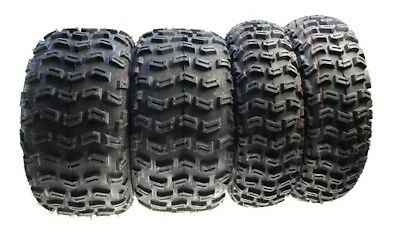 4x Off-Road TYRES ALL-TERRAIN Quad 21x7-10 20X10-9 Front/Rear for Yamaha YFM 350