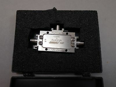 Avantek ACT20-211-1R RF Cascadable Amplifier 10-2000MHz Wide Band Low Power NEW