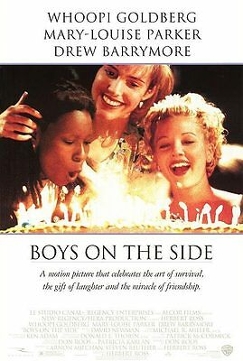 Boys on the Side Original S/S rolled Movie Poster 27x40 NEW 1995 Drew Barrymore