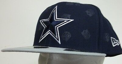 official photos 20b19 a8096 New Era 59Fifty Dallas Cowboys NFL Football Cap Hat men fitted 7 1 2  authentic