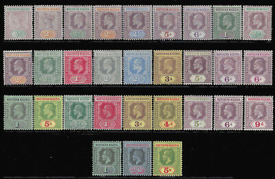 Northern Nigeria Stamps 1900-1912 Better Selection M £233 / $305