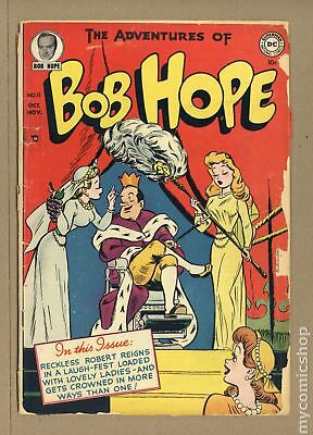 Adventures of Bob Hope #11 1951 GD 2.0