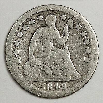1849-o Liberty Seated Half Dime.  Good.  114035